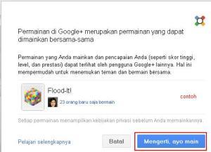 Game Menarik di Google +